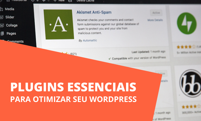 plugins otimizar wordPress